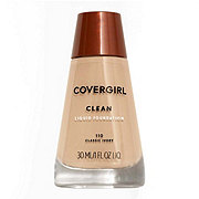 CoverGirl Clean Classic Ivory 110 Normal Skin Liquid Makeup