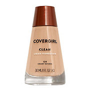 CoverGirl Clean Creamy Natural 120 Normal Skin Liquid Makeup