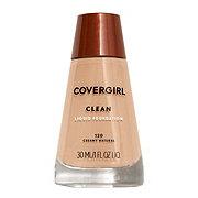 CoverGirl Clean Creamy Natural 120 Normal Skin Liquid Makeup