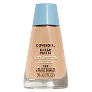 CoverGirl Clean Creamy Natural 520 Oil Control Liquid Makeup