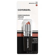 CoverGirl Continuous Color Bronzed Glow 770 Lipstick