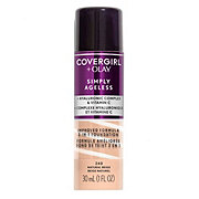 CoverGirl + Olay Simply Ageless 3-in-1 Liquid Foundation, Natural Beige