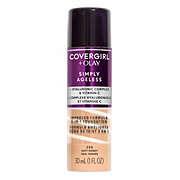 CoverGirl + Olay Simply Ageless 3-in-1 Liquid Foundation, Soft Honey