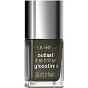 CoverGirl Outlast Stay Brilliant Black Heat 640 Glosstinis Nail Polish