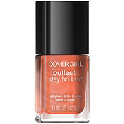 CoverGirl Outlast Stay Brilliant Totally Tulip Nail Gloss