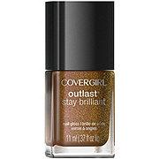 CoverGirl Stay Brilliant Nail Gloss Seared Bronze