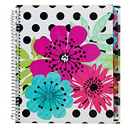CPP International Sugarland 5 Subject Notebook, Colors & Designs May Vary
