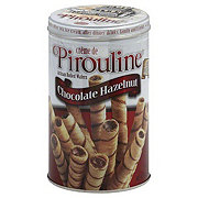 Crème de Pirouline Artisan Rolled Chocolate Hazelnut Wafers