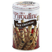 Crème de Pirouline Artisan Rolled Dark Chocolate Wafers