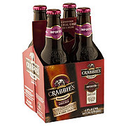 Crabbie's Scottish Raspberry Ginger Beer 11.2 oz Bottles