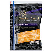 Cracker Barrel Colby Jack Cheese Slices