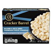 Cracker Barrel Parmesan White Cheddar Macaroni and Cheese