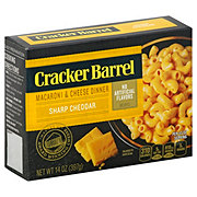 Cracker Barrel Sharp Cheddar Macaroni and Cheese Dinner