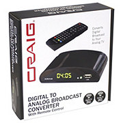 Craig Digital To Analog Broadcast Converter With Remote Control