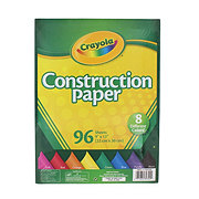 Crayola 8 Assorted Colors Construction Paper, 9