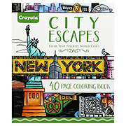 Crayola City Escapes Color Book