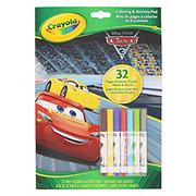 Crayola Color & Activity Cars 3