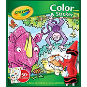 Crayola Color And Sticker Book