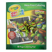 Crayola Color Wonder Coloring Pad, Teenage Mutant Ninja Turtles
