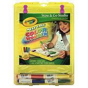 Crayola Color Wonder Stow and Go Travel Studio
