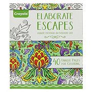 Crayola Elaborate Escape Coloring Book