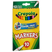 Crayola Fine Line Classic Color Markers
