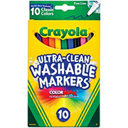 Crayola Fineline Washable Markers