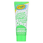 Crayola Finger Paint Soap Screamin' Green