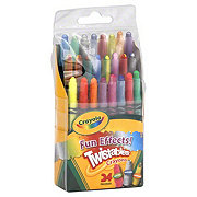 Crayola Fun Effects Twistable Crayons