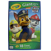 Crayola Giant Color Page Paw Patrol