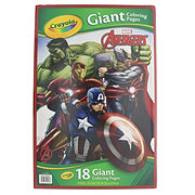 Crayola Giant Color Pages, Avengers Assemble
