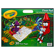 Crayola Giant Floor Pad, 30 Sheets