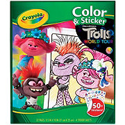 Crayola Trolls Color & Sticker Book