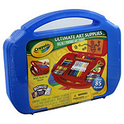Crayola Ultimate Art Supplies Case & Easel, Colors May Vary