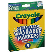 Crayola Ultra Clean Classic Broad Line Washable Markers
