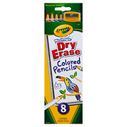 Crayola Washable Dry Erase Colored Pencils
