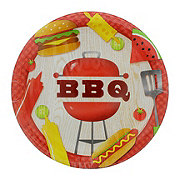 Creative Converting BBQ Time Dinner Plate