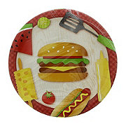 Creative Converting BBQ Time Lunch Plate