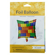 Creative Converting Block Party Square Foil Balloon