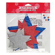 Creative Converting Cutout Patriotic Stars