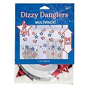 Creative Converting Dizzy Dangler Patriotic Stars