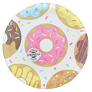 Creative Converting Donut Time Plate