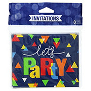 Creative Converting Geo Pop Invitations