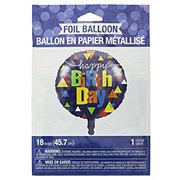 Creative Converting Geo Pop Metallic Balloon