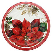 Creative Converting Golden Greenery Lunch Plate