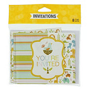 Creative Converting Happi Jungle Invitations