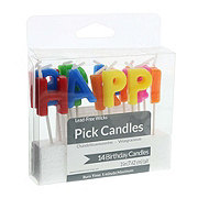 Creative Converting Happy Birthday Pick Candles