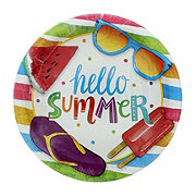 Creative Converting Hello Summer Lunch Plate