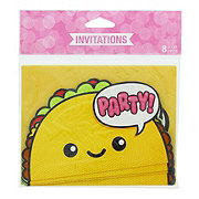 Creative Converting Junk Food Fun Invitations