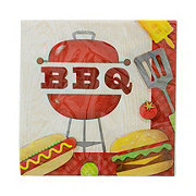 Creative Converting Lunch Napkin BBQ Time